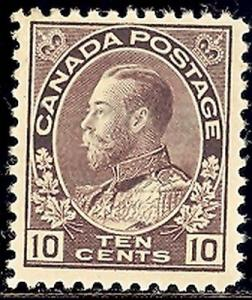 Canada  #116  Very Lightly Hinged  Mint  VF -   Lakeshore...