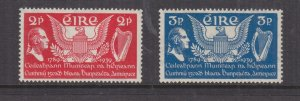 IRELAND, 1939 United States Constitution pair, lhm.