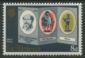 STAMP STATION PERTH St Helena #233 Charles Dickens 1970 MNH