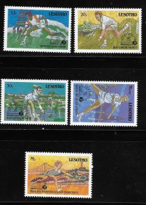 Lesotho 1988 Tennis Champions MNH A1204