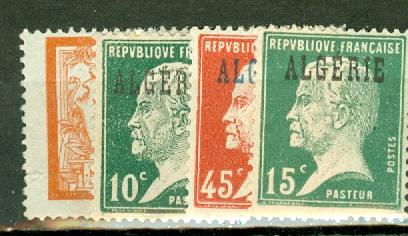 Algeria 1-32 mint/used CV $48, scan shows only a few