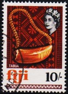 Fiji. 1968 10s S.G.386 Fine Used