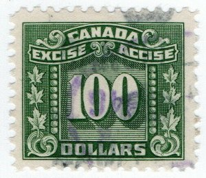 (I.B) Canada Revenue : Excise Tax $100