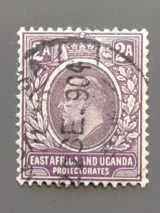 East Africa and Uganda  #3 F-VF used. Scott $ 3.00