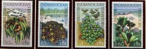 BIOT SC# 78-81 Native Plants, set, MNH