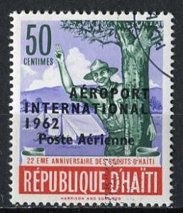 Haiti; 1962: Sc. # C197: O/Used CTO Single Stamp