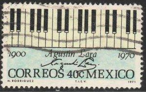 MEXICO 1036, In Memoriam Agustin Lara, Composer. Used. VF. (478)