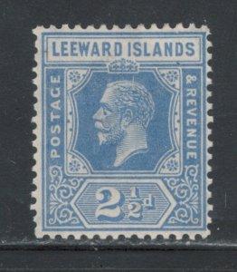 Leeward Islands 1927 King George V 2 1/2p Scott # 70 MH