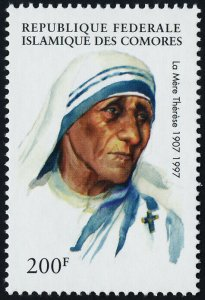 Comoro Islands 816 MNH Mother Teresa