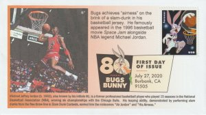6° Cachets 5502 Bugs Bunny: Basketball Legend Michael Jordan Chicago Bulls