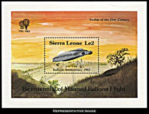 Sierra Leone Scott 600 Mint never hinged.