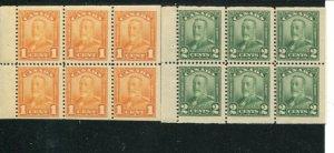 Canada #149a, 150a   Mint F-VF    - Lakeshore P...