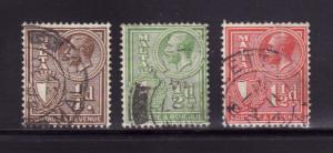 Malta 167-169 U King George V (B)