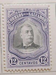A6P37F53 Salvador 1906 12c mh*