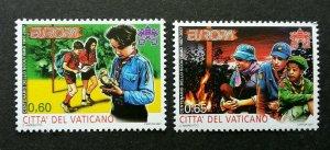 Vatican Scout 2007 Camping Uniform Fire Duck (stamp) MNH