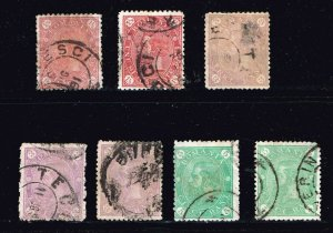 ROMANIA STAMP OLD USED STAMP COLLECTION LOT #S3