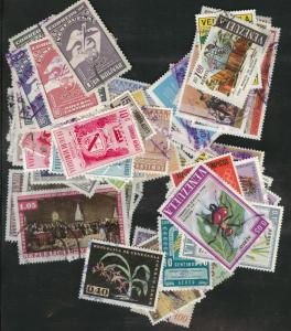 Venezuela  Packet of 200 different used stamps