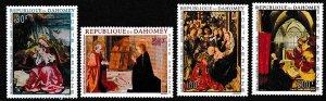 Dahomey 1967 Scott C63-C66 Christmas MNH
