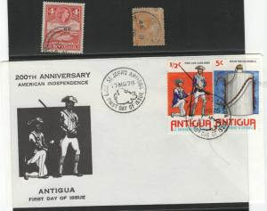 Antigua stamp collection **