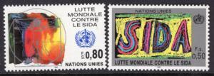 UN Geneva 184-185 MNH VF