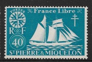 Saint Pierre and Miquelon Mint Never Hinged [4131]