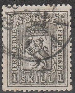Norway #11   F-VF Used CV $70.00