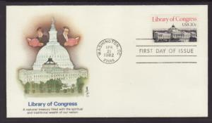 US 2004 Library of Congress Fleetwood U/A FDC