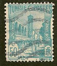 Tunisia  Scott  88C      Mosque    Used