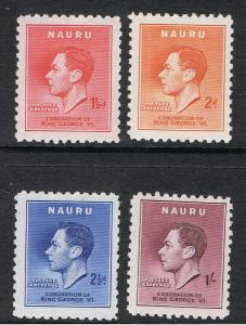 NAURU 1937 KING GEORGE VI