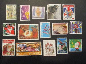 Gibraltar Assortment Used #8- (5D4) WDWPhilatelic