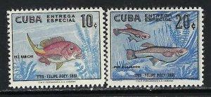 CUBA E26-27 MOG FISHES 708B
