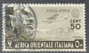 DYNAMITE Stamps: Italian East Africa Scott #C2 – USED