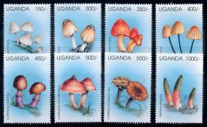 [68876] Uganda 1996 Mushrooms Pilze Champignons  MNH