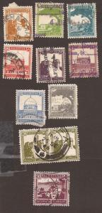 Palestine - 1927-42- S# - 63-64, 66-67, 70, 72-73, 76-78