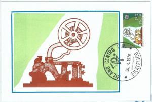 72671 -  ITALY -  Postal History - FDC  MAXIMUM CARD - EUROPA Communication 1979