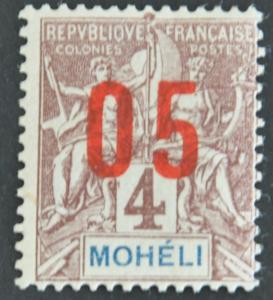 DYNAMITE Stamps: Moheli Scott #17 – MINT