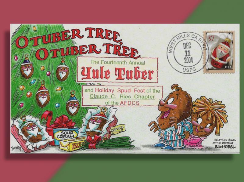 O Tuber Tree, O Tuber Tree - Event Cover Celebrates Christmas Potato Party 2004
