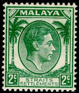 MALAYSIA - Straits Settlements SG279, 2c green, NH MINT. Cat £21.