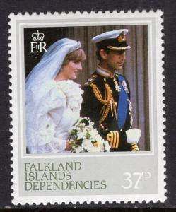 Falkland Islands Dependencies 1L74 MNH VF