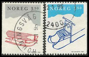 Norway 1070-1071 Used  VF