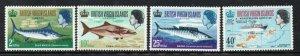 British Virgin Islands Sc 186-9 1968 Game Fishing stamp set mint NH
