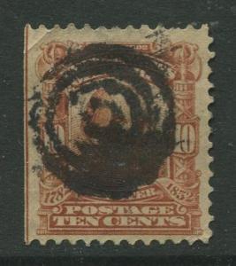 STAMP STATION PERTH USA #307 Webster Used 1902-1903 CV$3.25.