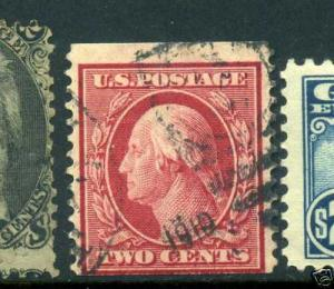 Scott 353 Washington USED Coil Stamp with Weiss Cert (Stock 353-19)