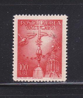 Vatican C15 U Air Mail Stamp (A)