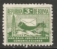 BOLIVIA RA14 VFU V449