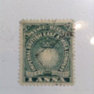 British East Africa  # 15  Used