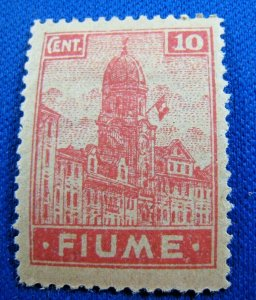 FIUME  1919  -  SCOTT # 30  -   MH       (X15)