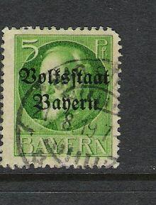 GERMANY BAVARIA 137 VFU K241