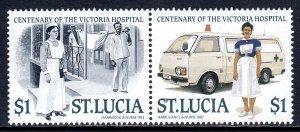 St. Lucia - Scott #894 - MNH - SCV $5.50