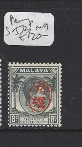 MALAYA JAPANESE OCCUPATION PENANG ITCHIBURI (P0709B) 8C SG J73  MOG